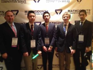 2014 Team at MATHCOUNTS Banquet